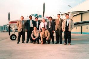 Коллектив компании MULTIBETON в 1980 г.